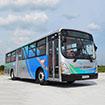 """Từ ngày 20 tháng 9 năm 2014 (thứ Bảy), công ty TNHH Xe Buýt Becamex Tokyu (công ty con của BECAMEX TOKYU) sẽ bắt đầu vận hành thử nghiệm tuyến xe buýt """"KAZE SHUTTLE"""" tại tỉnh Bình Dương. Hiện nay, thủ phủ mới của tỉnh Bình Dương là Trung tâm Hành chính Tập trung tại Thành Phố Mới đã đi vào hoạt động. Tuyến xe buýt """"KAZE SHUTTLE"""" kết nối Thành Phố Mới Bình Dương và thành phố Thủ Dầu Một sẽ trở thành phương tiện giao thông phục vụ công chức làm việc tại Trung tâm Hành chính và đáp ứng nhu cầu đi lại của cư dân Thành Phố Mới. Cùng với việc vận dụng kinh nghiệm và công nghệ của Nhật Bản như: vận hành đúng giờ theo thời gian biểu, luôn lịch sự với hành khách, triệt để giáo dục về an toàn giao thông…, BECAMEX TOKYU BUS đặc biệt cung cấp một hệ thống xe buýt mới chạy bằng khí nén thiên nhiên (CNG) thân thiện với môi trường. Tên gọi của tuyến xe buýt là """"KAZE SHUTTLE"""". """"Kaze"""" trong tiếng Nhật có nghĩa là """"gió"""", xe buýt KAZE sẽ như làn gió đi xuyên qua Thành Phố Mới; cùng với dự án căn hộ cao cấp SORA gardens (trong tiếng Nhật, SORA có nghĩa là bầu trời), chúng tôi hi vọng quý khách sẽ cảm nhận được nét đặc trưng Nhật Bản qua các dự án của BECAMEX TOKYU."""