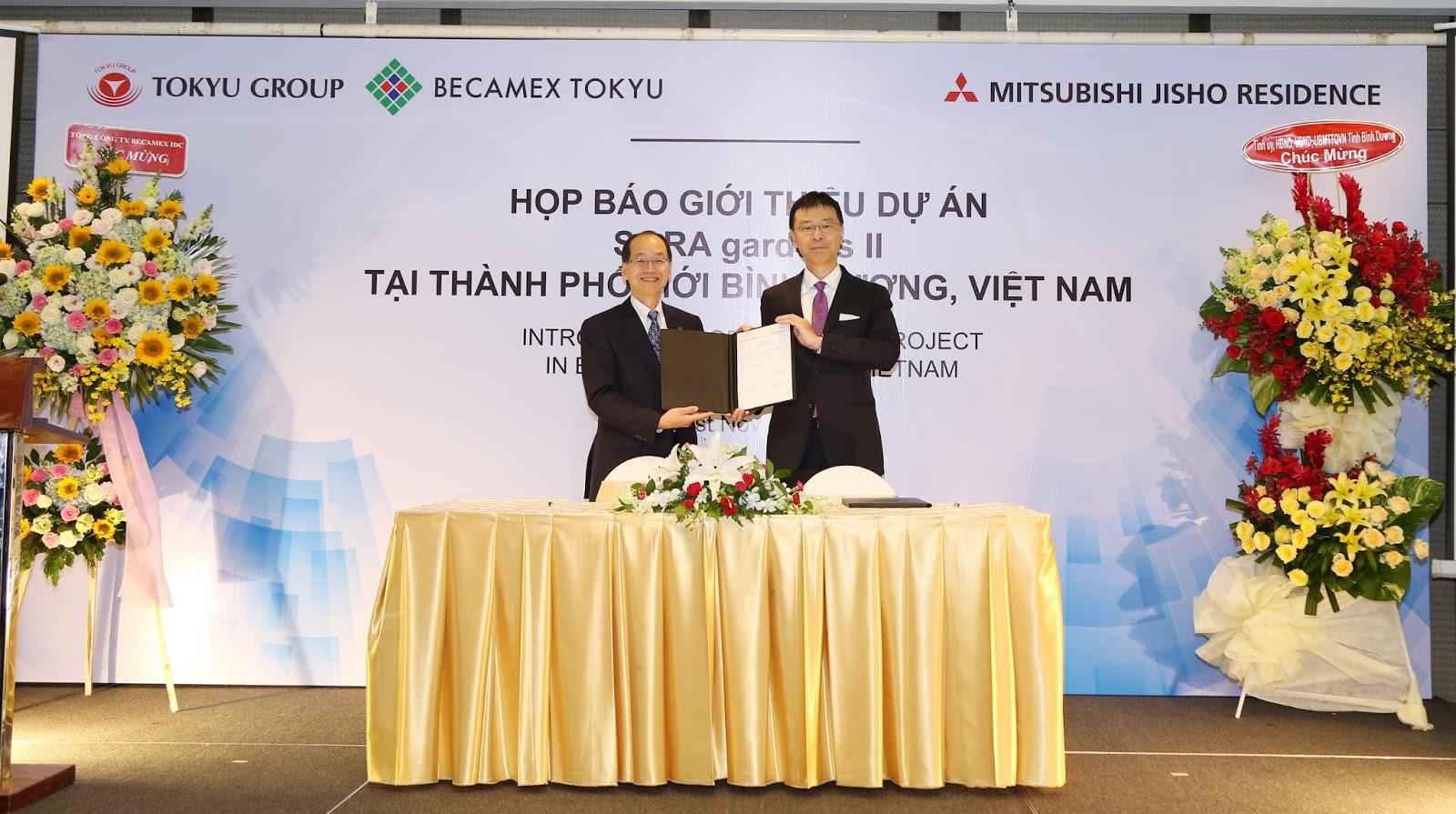 ベトナム・ビンズン省において、東急グループと三菱地所グループが合弁会社を設立