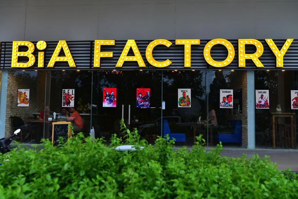 Bia Factory has opened in SORA gardens