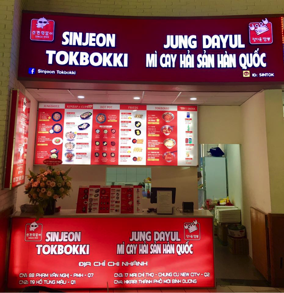 SINJEON TOKBOKKI officially opened new branch in Binh Duong New City