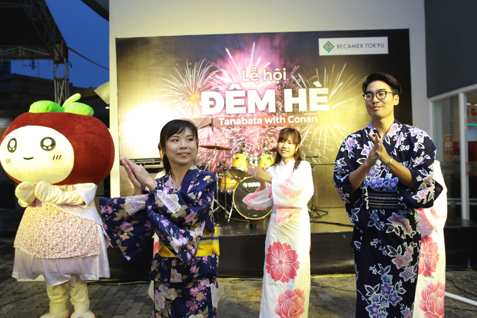 'Summer Night Festival – Tanabata with Conan' was hold in Binh Duong New City for the first time