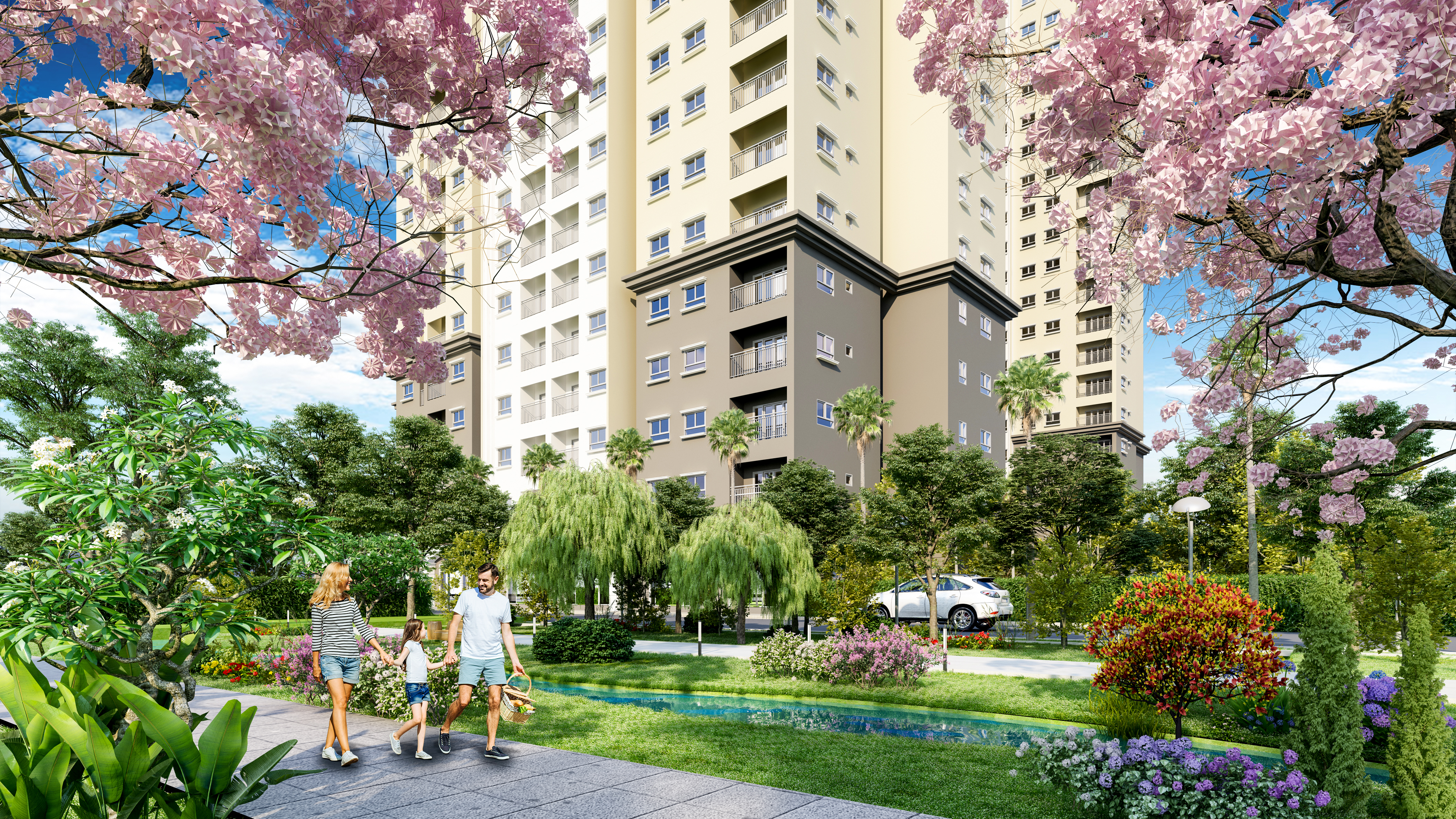 """OPENING FOR SALES HIGH-QUALITY APARTMENT """"MIDORI PARK THE VIEW"""" IN BINH DUONG NEW CITY – VIETNAM"""
