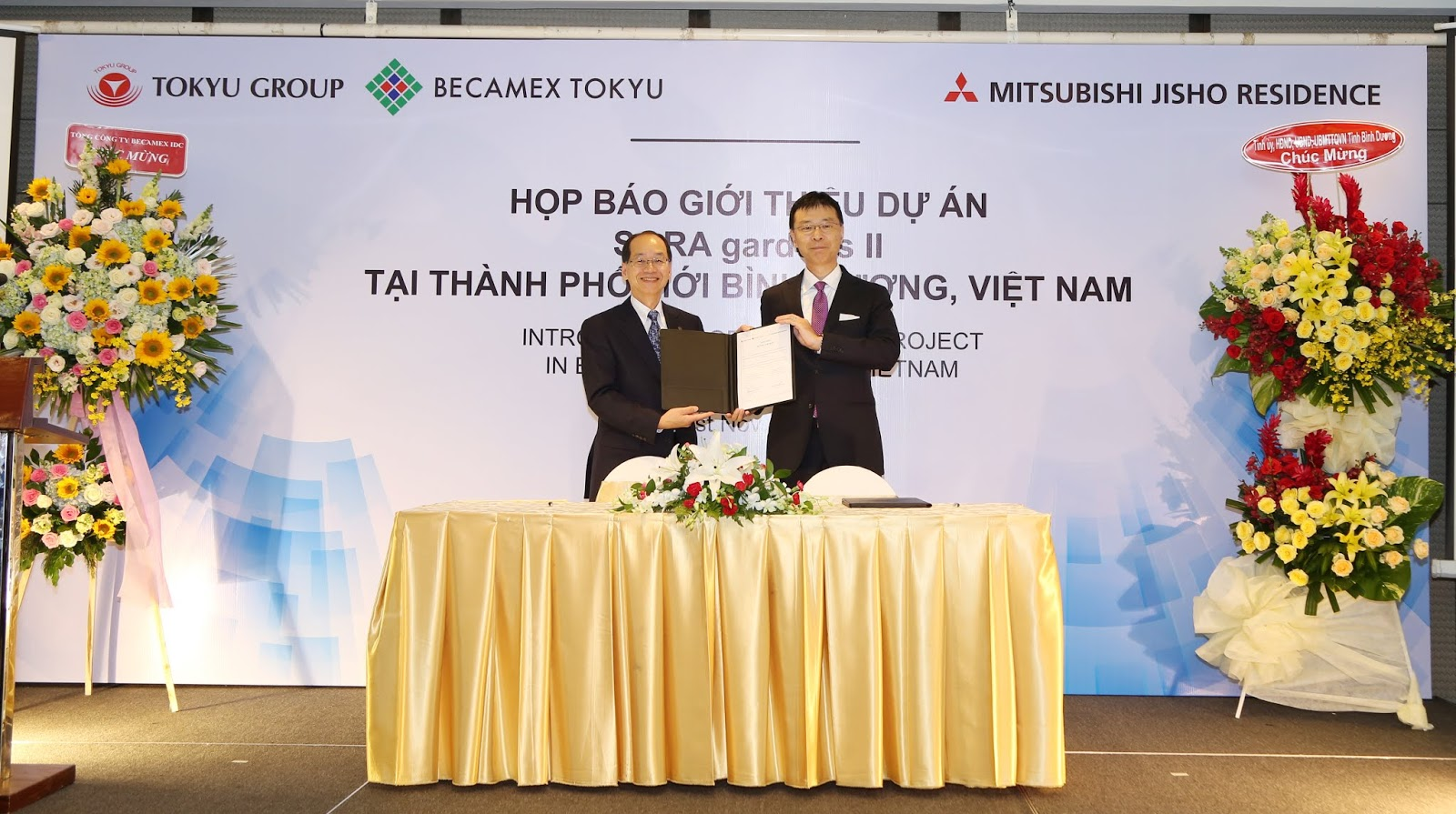 ESTABLISHMENT OF JOINT VENTURE COMPANY BETWEEN TOKYU GROUP AND MITSUBISHI ESTATE GROUP IN BINH DUONG PROVINCE, VIETNAM