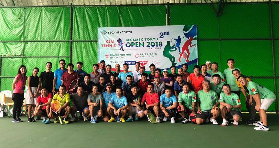 Tennis Becamex Tokyu Open 2018 second time