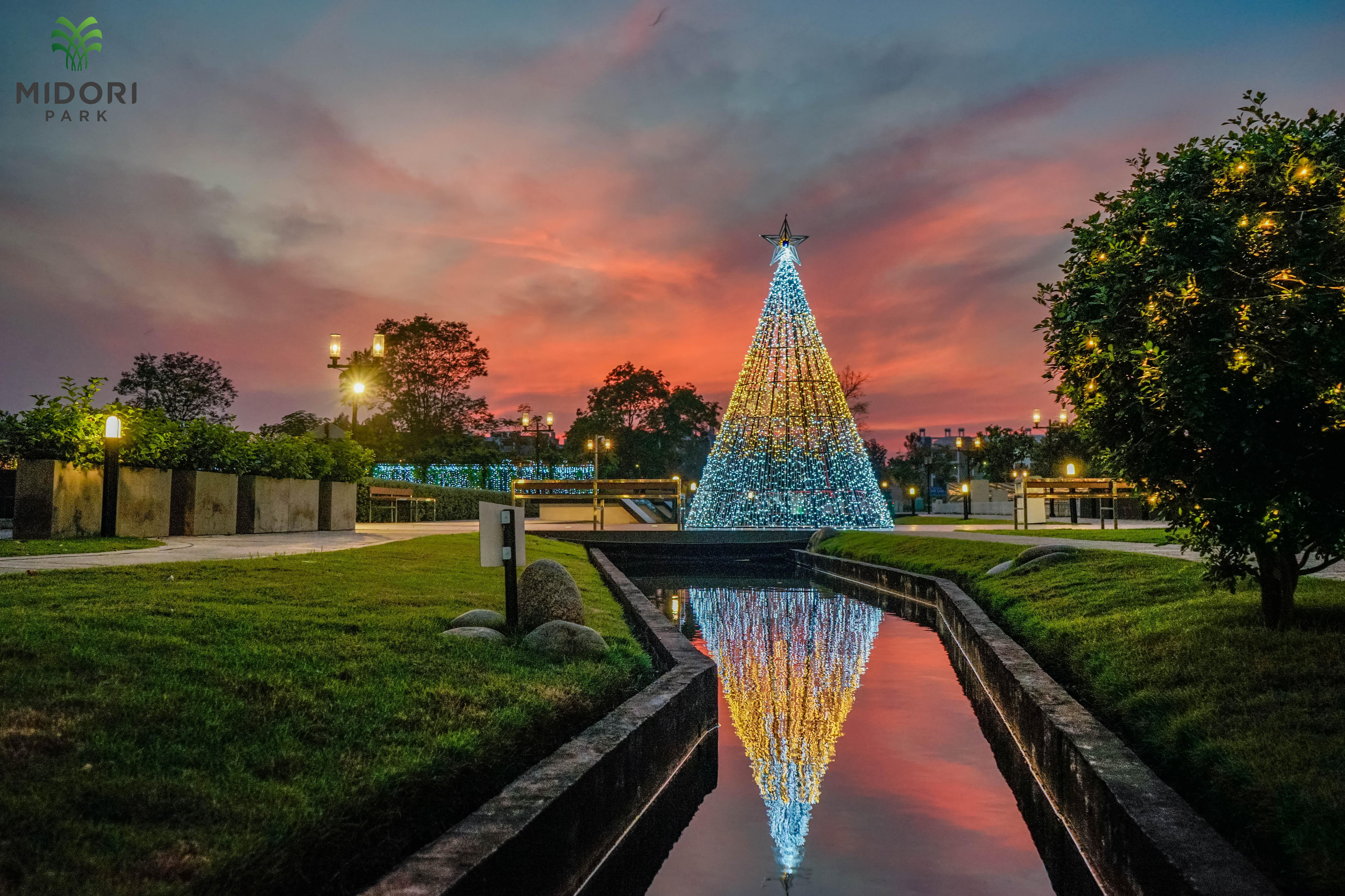 Christmas Illumination 2018  in MIDORI PARK HARUKA