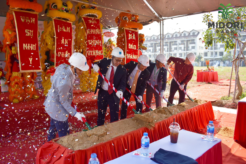 MIDORI PARK HARUKA Ground-breaking Ceremony Phase 3