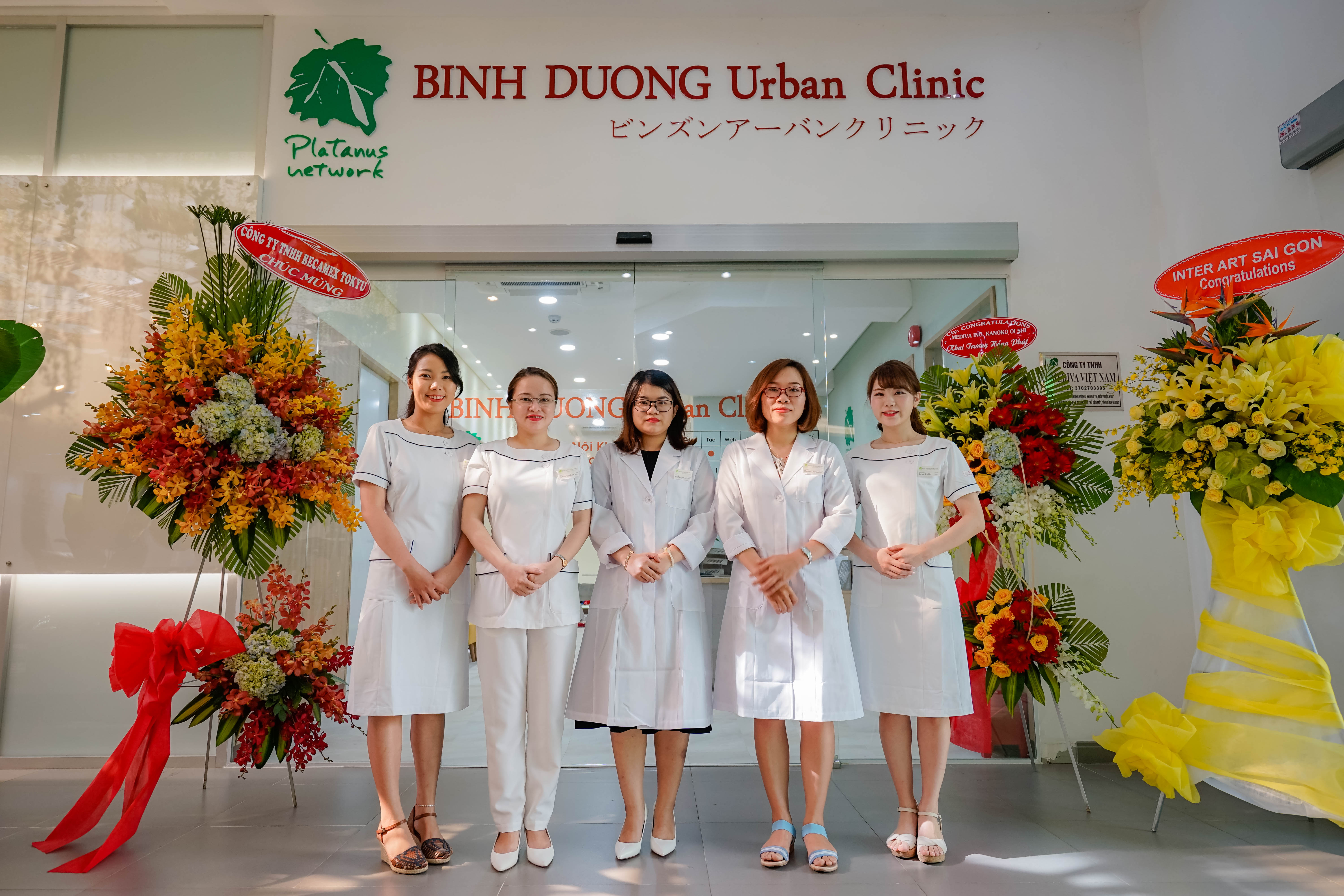 BINH DUONG URBAN CLINIC – WITH 100% INVESTMENT CAPITAL FROM JAPANESE MEDIVA COMPANY – OFFICIAL OPENING IN FEBRUARY 14TH, 2019