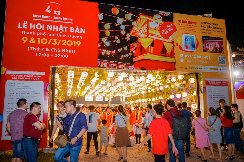 """TOKYU GROUP – Japan Festival"""" in Binh Duong New City"""