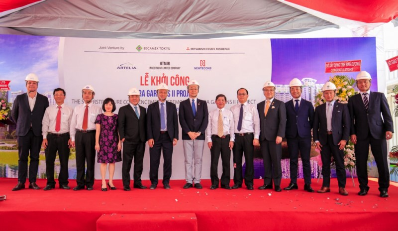 THE SUPERSTRUCTURE COMMENCEMENT CEREMONY OF SORA GARDENS II PROJECT