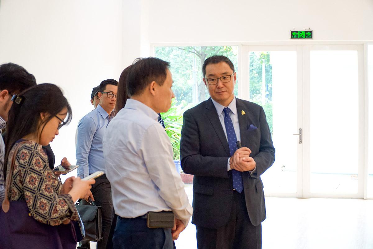 Công ty BECAMEX TOKYU đón tiếp Thứ trưởng Bộ ngoại giao